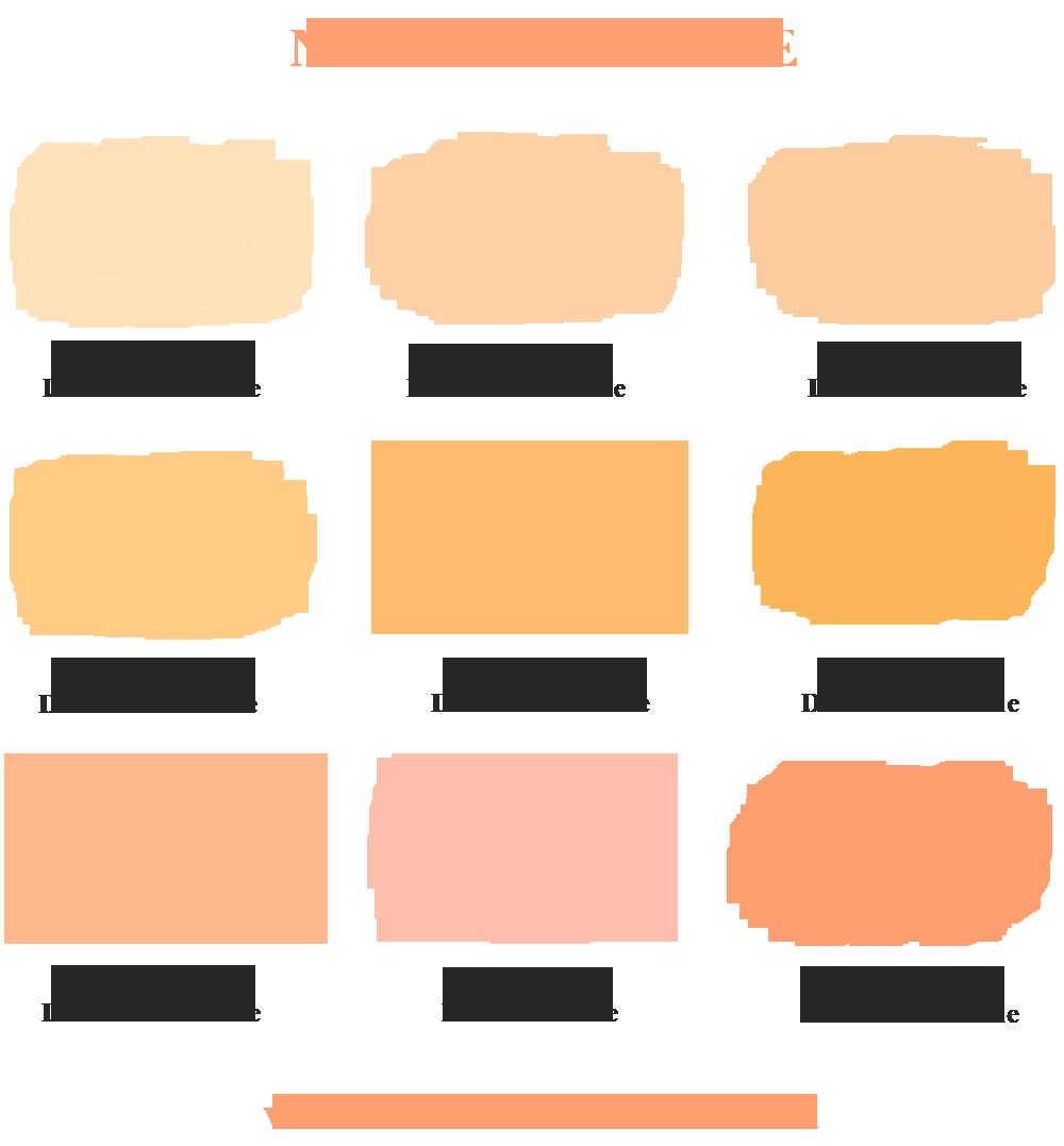 Comment Faire La Couleur Saumon nuancier pêche-abricot | les bons détails